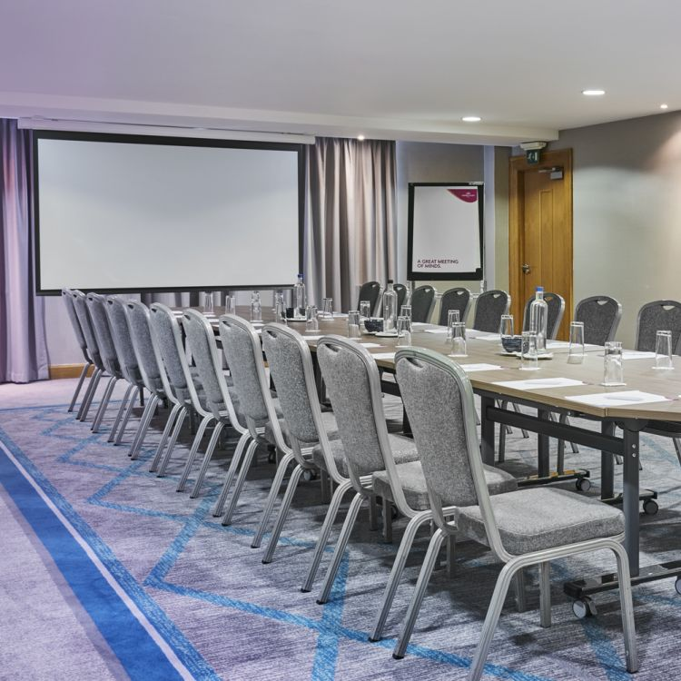 The Larch meeting room in the Great Oak conference centre Belfast