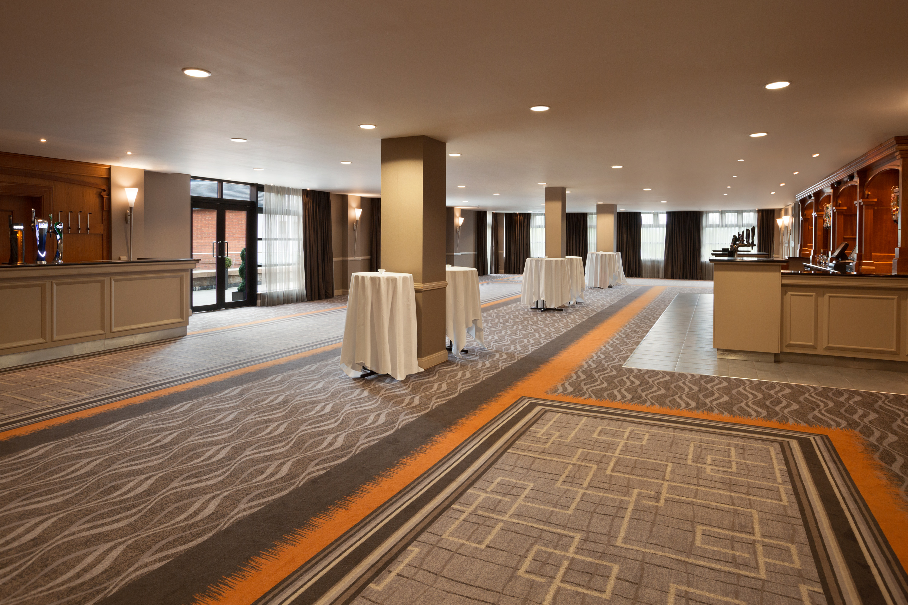 The Grand Ballroom pre function arrival area